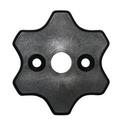 Bride étoile pour moteur LEC Ø 35 mm
