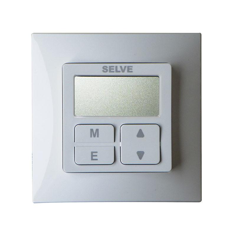 Interrupteur Programmable Volet Roulant.Horloge Filaire Smart Timer Selve A Encastrer