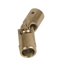 Genouillère acier Ø 16 mm : Rond 12 mm / Hexagonal 7 mm