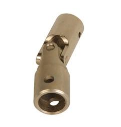 Genouillère acier Ø 16 mm : Rond 13 mm / Hexagonal 7 mm