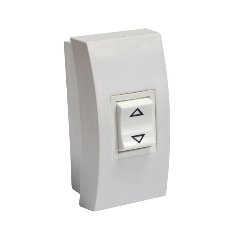 bouton mural pression maintenue pour store et volet roulant. Black Bedroom Furniture Sets. Home Design Ideas