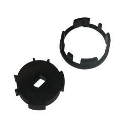 Adaptateur pour moteur LEC Ø 45 mm pour tube ZF54 mm