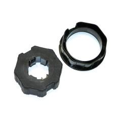 Adaptateur octogonal 60 mm pour moteur Nice ERA M