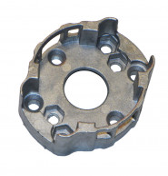 Support compact en aluminium avec 2 trous entraxe 48 et 60 mm