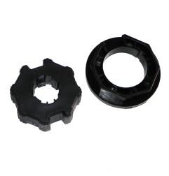 Adaptateur pour moteur Neo Ø 45 mm centre à pignon  pour tube octogonal 70 mm
