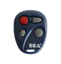 Télécommande de portail BLEU SEA ROUND TX4