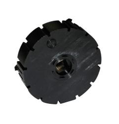 Moyeu pour poulie - trou carré 10 mm