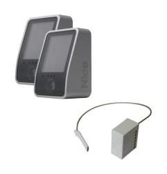 Kit photocellules sans fils et récepteur radio