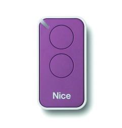 Télécommande Nice INTI 2 touches mauve - INTI2L