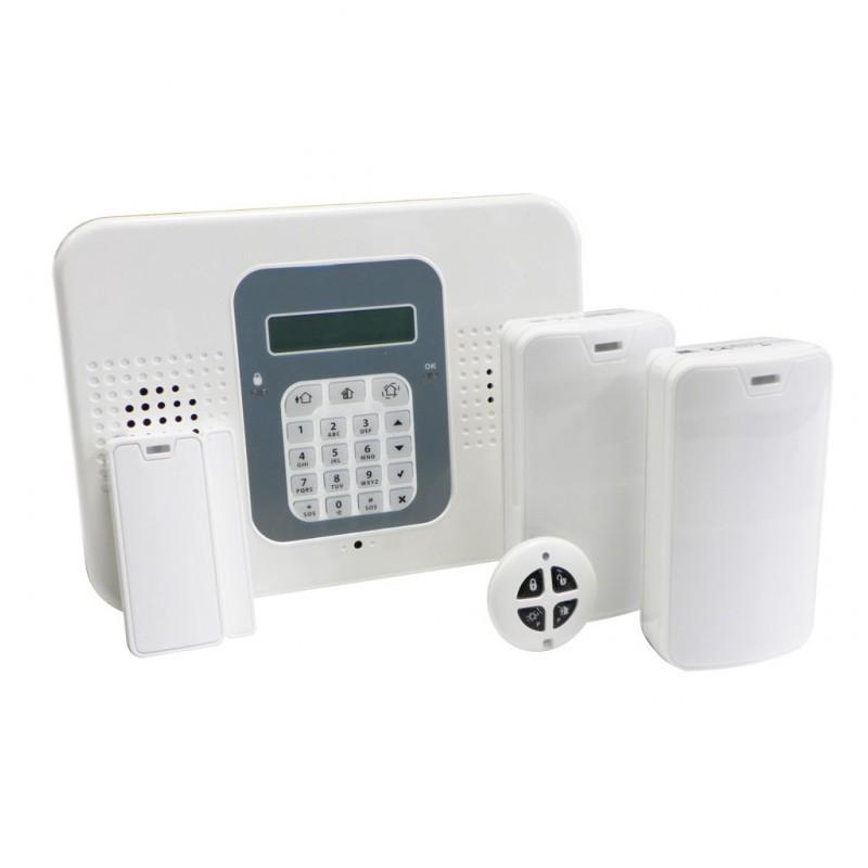 Commpact   Pack alarme intrusion 2G/WIFI autosurveillance gratuite