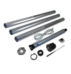 Kit ERA octo 60 mm télescopique pour store et volet électrique 28 Kg
