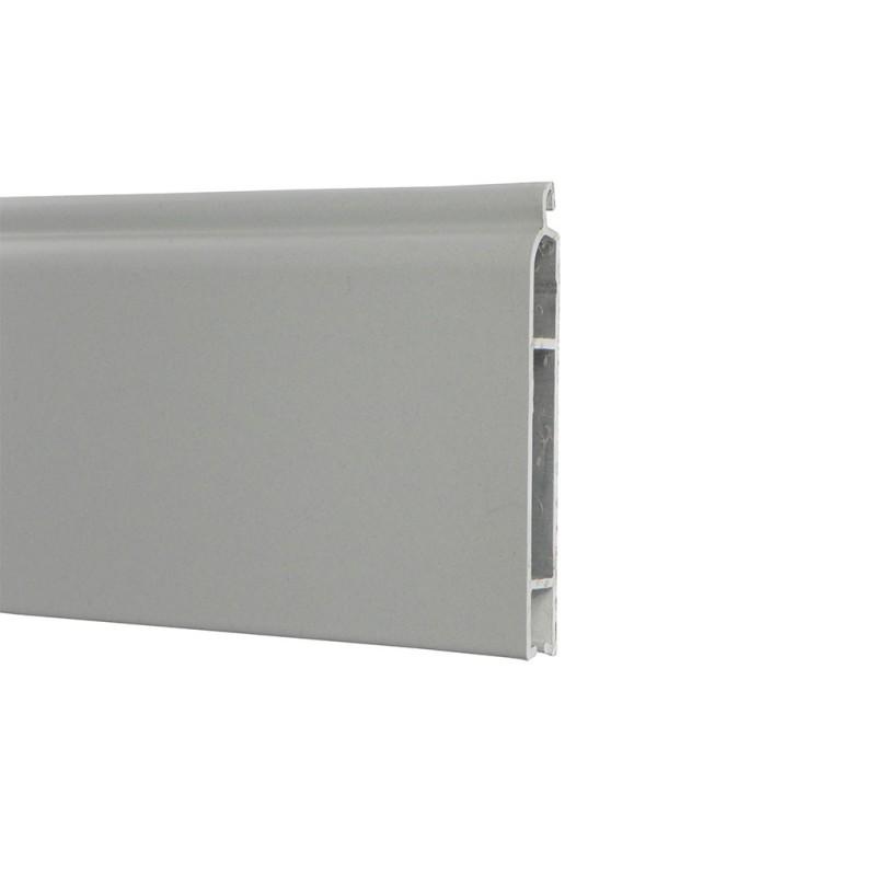 Lame finale ALU 51,8x8 mm - gris (2 mètres)