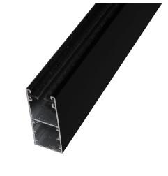 Coulisse RENO 53x22 mm noir RAL9005 (1 mètre)