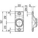 Sortie de caisson 45° et sous coffre E:D10 S:C8