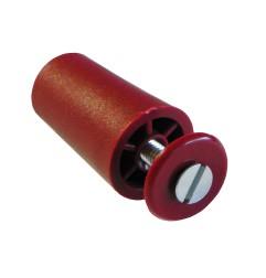 Butée de volet roulant 40 mm rouge