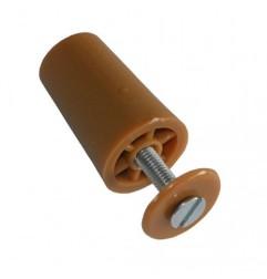 Butée de volet roulant 40 mm marron clair