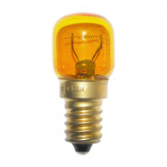 Ampoule à vis E14 24V 25W orange