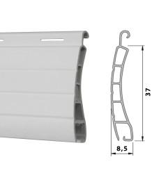 Lame PVC 37 ajourée - blanc (2 mètres)