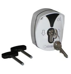 Boite à clés montée/descente avec débrayage de l'électrofrein