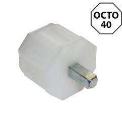 Pivot carré 7 mm