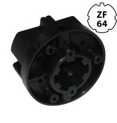 Embout pour tube ZF64 avec crabot 27 mm