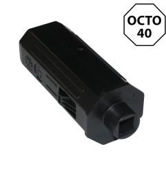 Embout octogonal 40 mm – carré 10 mm