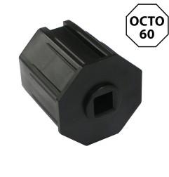 Embout octogonal 60 mm – carré 13 mm