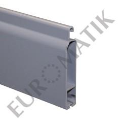 Lame finale ALU 65x14 mm gris métal (le mètre)