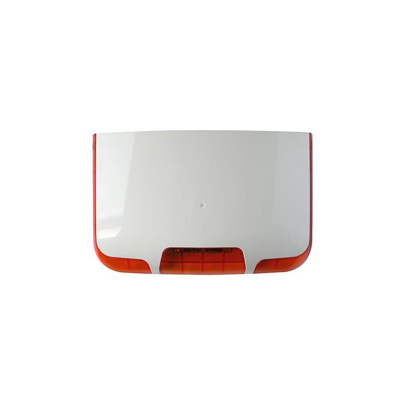 Sr400 sir ne ext rieure avec flash pour alarme for Sirene alarme exterieure filaire