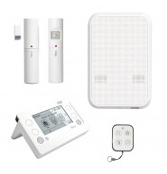 HSCU2GWFR - Kit alarme RTC et GSM 100% radio Nice