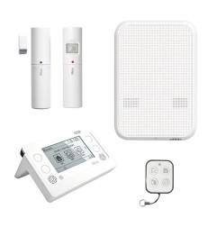HSCU2GCFR - Kit alarme RTC et GSM, filaire et radio