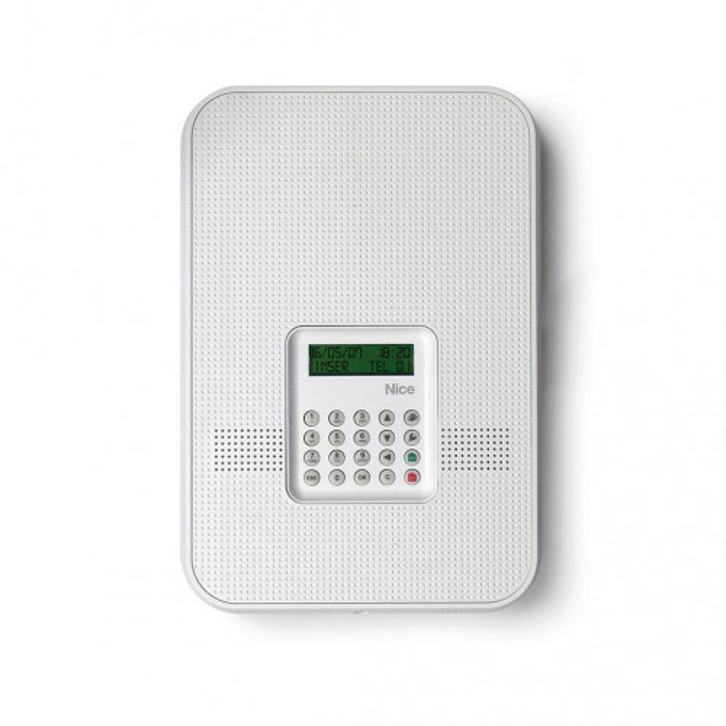 centrale d 39 alarme nice home hscu1fr filaire et radio rtc. Black Bedroom Furniture Sets. Home Design Ideas