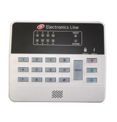 Clavier LED pour Penta 8 zones