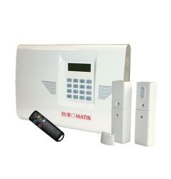 Kit alarme GSM Euromatik 100% radio