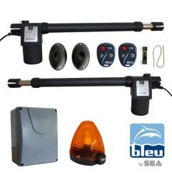 B600 Kit motorisation 230V pour portail battant avec 2 télécommandes