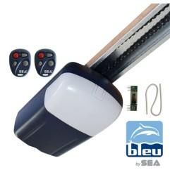 B100 Automatisme BLEU SEA pour porte de garage 60Kg avec 2 télécommandes