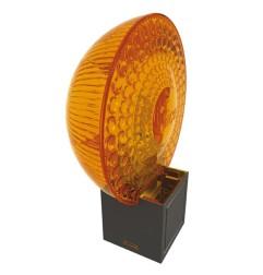 Feu clignotant orange 12 Vac/Vcc