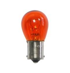 Ampoule à baïonnette BA15 12V 21W orange