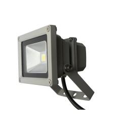 Projecteur extérieur LED aluminium 10 W à fixer