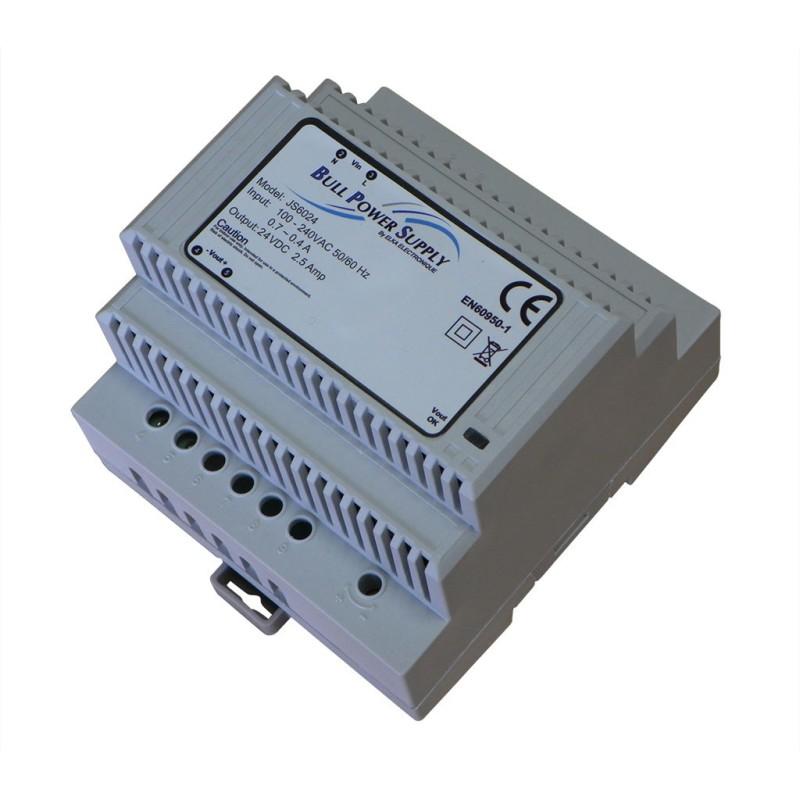 Alimentation AC/DC 100-230V / 24V 2,5A 60W