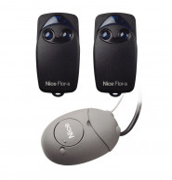 Kit télécommandes NICE - 2 FLO2R- S / 1 OX2