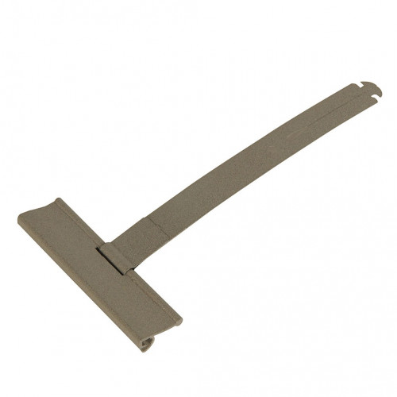 Attache de tablier à clipper pour tube octogonal et lame de 8 mm