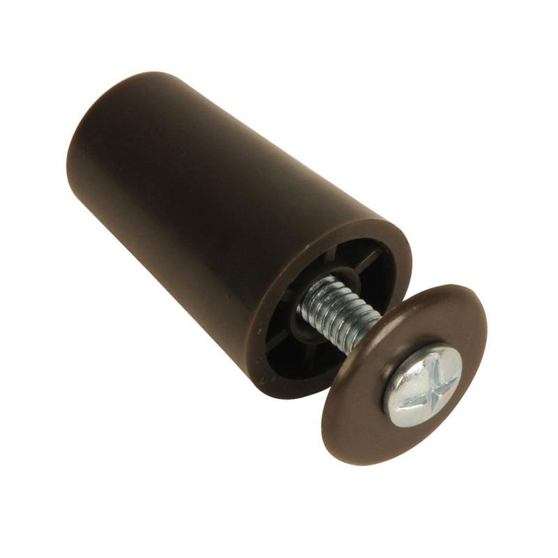Butée de volet roulant cylindrique 40 mm marron