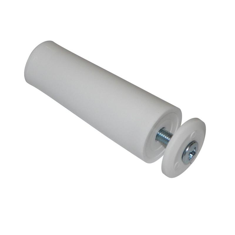 Butée de volet roulant cylindrique 60 mm blanc