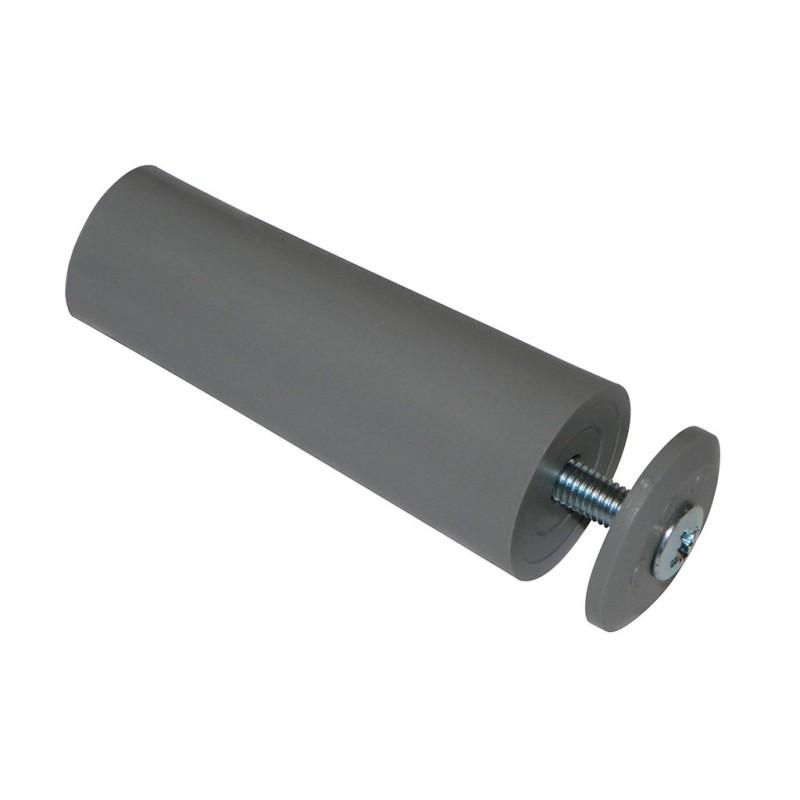 Butée de volet roulant cylindrique 60 mm grise