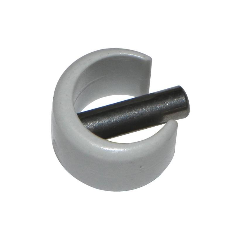 clips de fixation rapide gris pour manivelle rond 12 et 13 mm. Black Bedroom Furniture Sets. Home Design Ideas