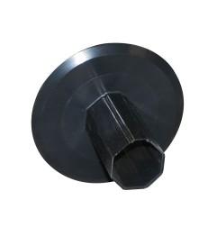 Flasque Ø140 mm pour tube octogonal 40 mm