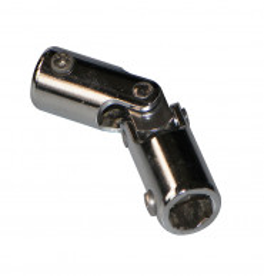 Genouillère acier chromé : Hexagonal 10 mm / Hexagonal 7 mm