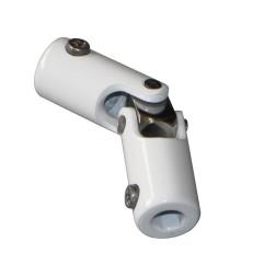 Cardan acier chromé et laqué blanc DEPT22/T90