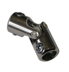 Genouillère acier : Rond 12 mm / Rond 12 mm